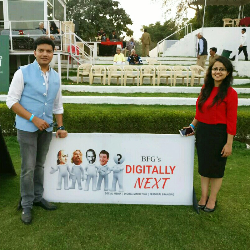 Jaipur Polo Grounds - Digitally Next at the Polo Grounds